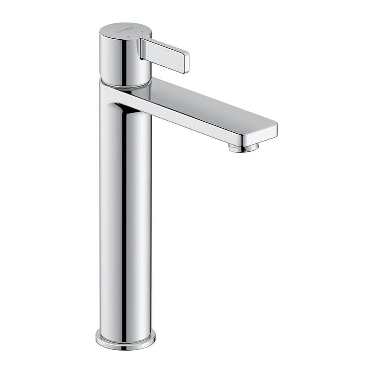 Duravit D-NEO miscelatore monocomando H.27 cm, per lavabo L, senza salterello, finitura cromo DE1030002010