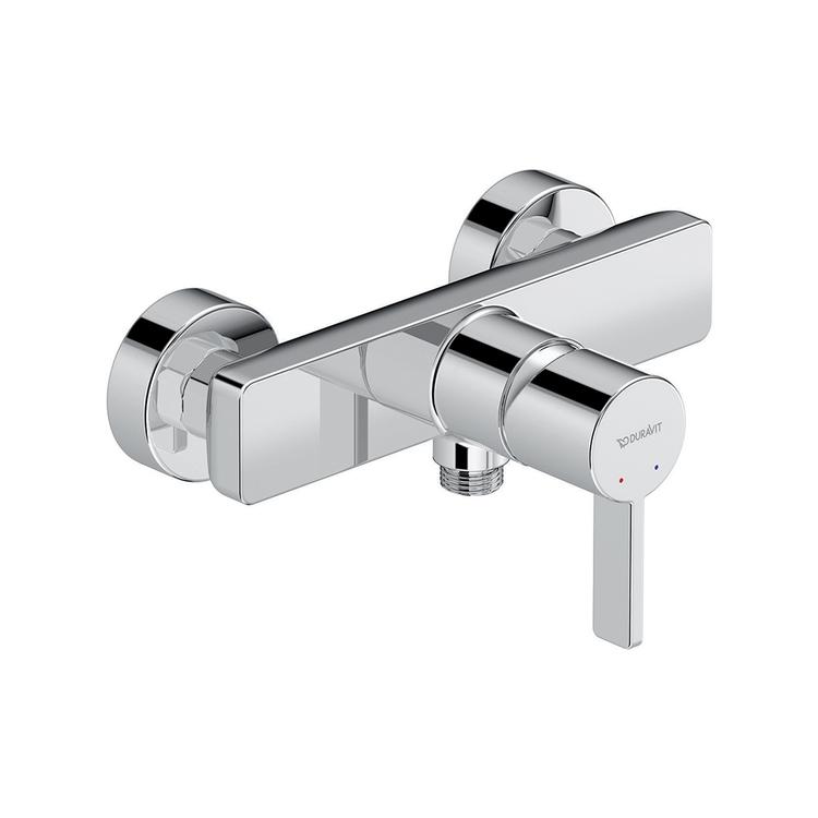 Duravit D-NEO miscelatore monocomando esterno, per doccia, finitura cromo DE4230000010
