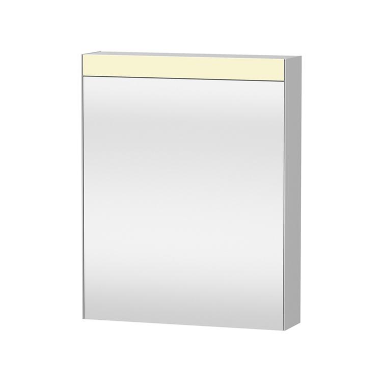 """Duravit D-NEO armadietto a specchio versione """"Good"""", cerniere a destra, 1 anta a specchio, 2 ripiani in vetro, per interruttore a parete LM7820R0000"""