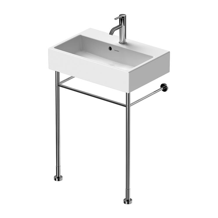 Duravit VERO sostegno metallico L.52.5 cm, regolabile in altezza +50 mm, per lavabo (art. 236860) 0031311000