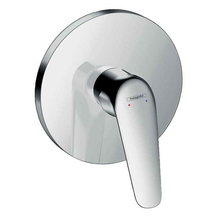 Hansgrohe NOVUS miscelatore monocomando doccia, ad incasso, finitura cromo 71067000