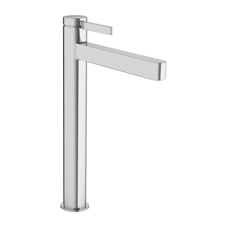 Hansgrohe FINORIS miscelatore monocomando lavabo 260, da catino, con piletta push-open, finitura cromo 76070000