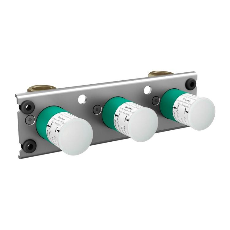 Axor Corpo incasso per miscelatore termostatico esterno, ad incasso, per 2 utenze 45442180