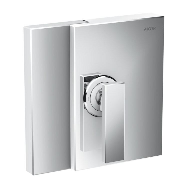 Axor EDGE set esterno monocomando doccia, ad incasso, finitura cromo 46650000