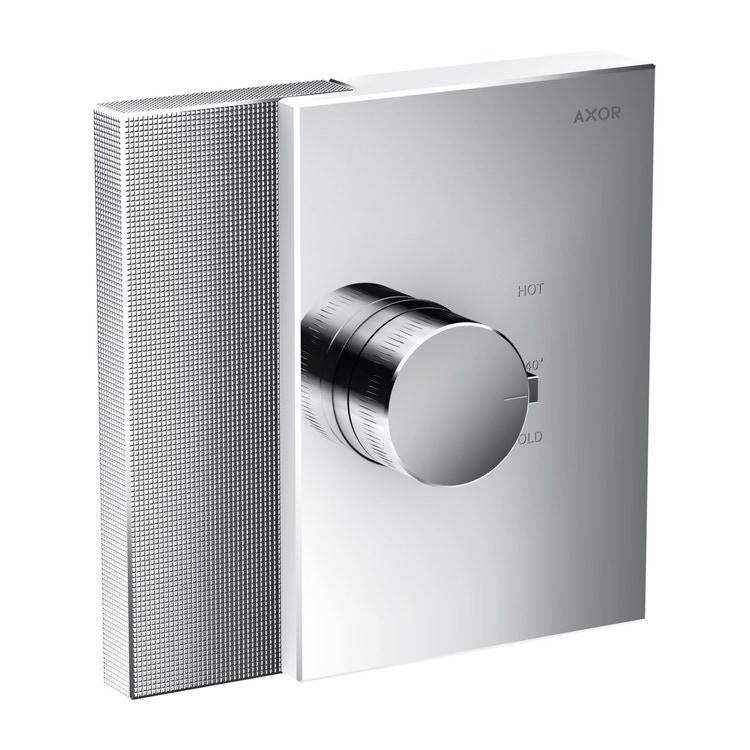 Axor EDGE termostato highflow ad incasso, con taglio a diamante, finitura cromo 46741000