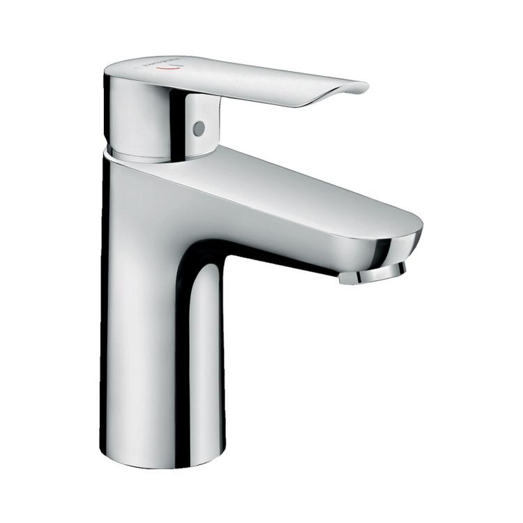 Hansgrohe LOGIS E miscelatore monocomando lavabo 100, CoolStart, con piletta in ottone, finitura cromo 71176000