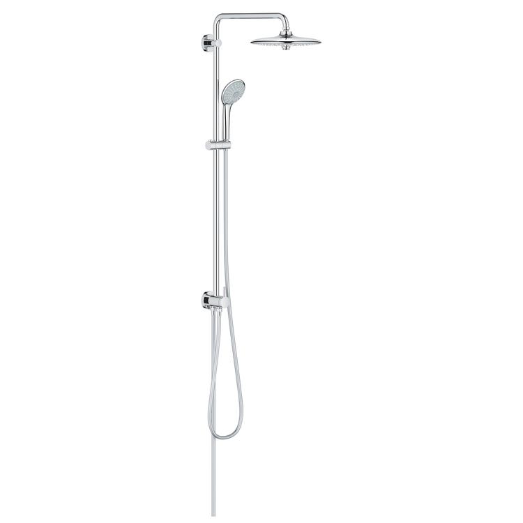 Grohe EUPHORIA set doccia con deviatore, finitura cromo 27421002