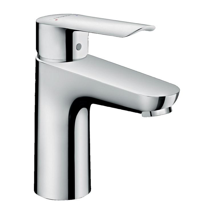 Hansgrohe LOGIS E miscelatore monocomando lavabo 100, con piletta in ottone, finitura cromo 71175000