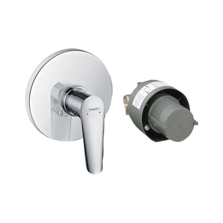 Hansgrohe LOGIS E set miscelatore doccia, ad incasso, finitura cromo 71608000