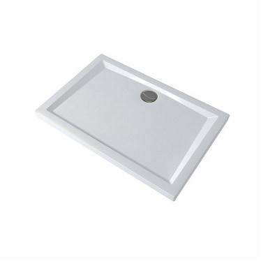 Pozzi Ginori 60 mm piatto doccia rettangolare 120x80, bianco 60042000