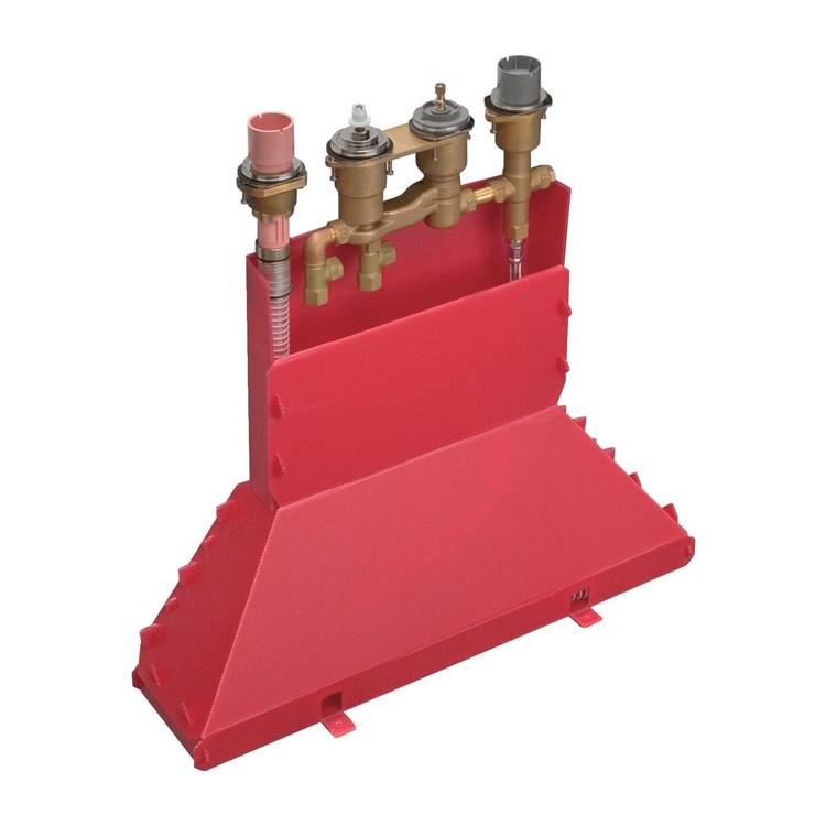 Axor Corpo incasso per rubinetteria 4 fori bordo vasca 15482180