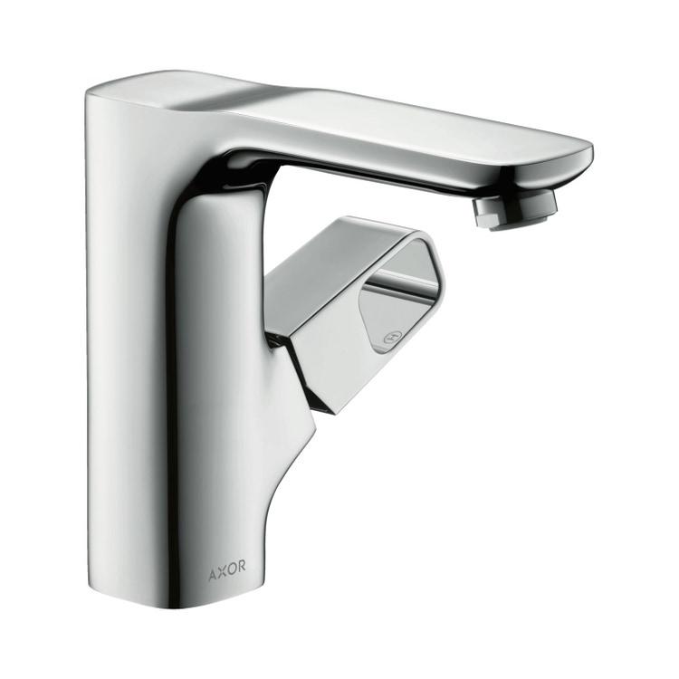 Axor URQUIOLA miscelatore monocomando lavabo 130, con set di scarico, finitura cromo 11021000