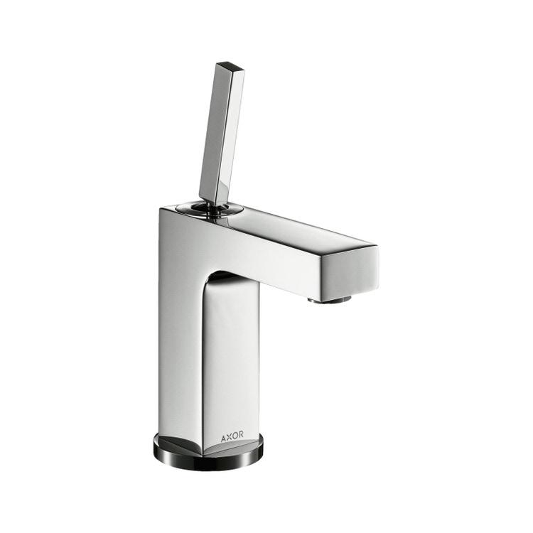 Immagine di Axor CITTERIO miscelatore monocomando lavabo 110, con set di scarico pop-up, finitura cromo 39010000