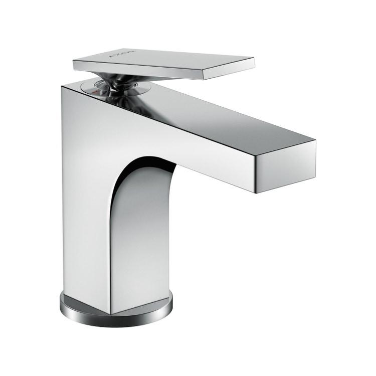 Axor CITTERIO miscelatore monocomando lavabo 90, con maniglia a leva e salterello, finitura cromo 39022000