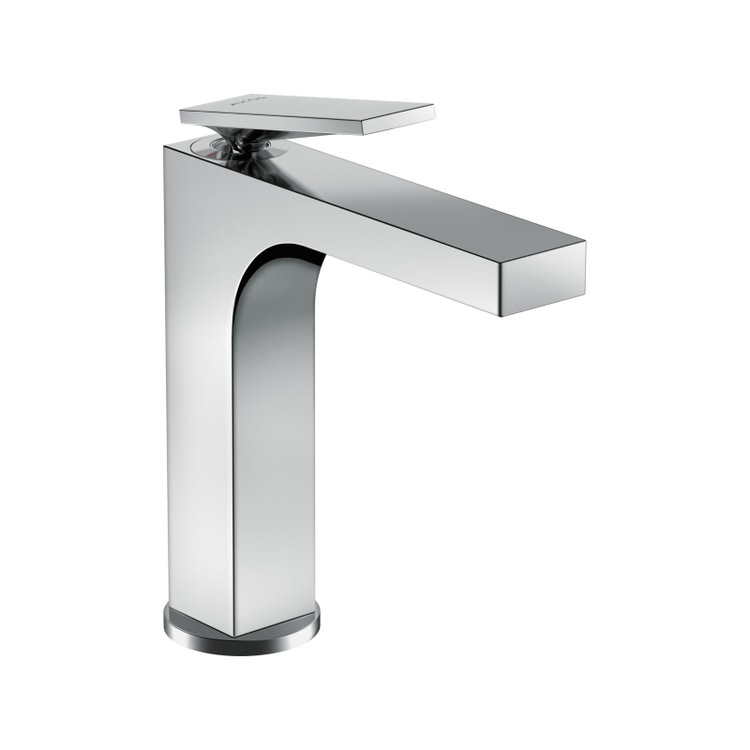Axor CITTERIO miscelatore monocomando lavabo 160, con maniglia a leva e salterello, finitura cromo 39023000