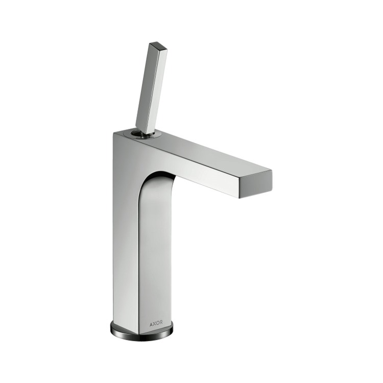 Immagine di Axor CITTERIO miscelatore monocomando lavabo 160, con set di scarico, finitura cromo 39032000