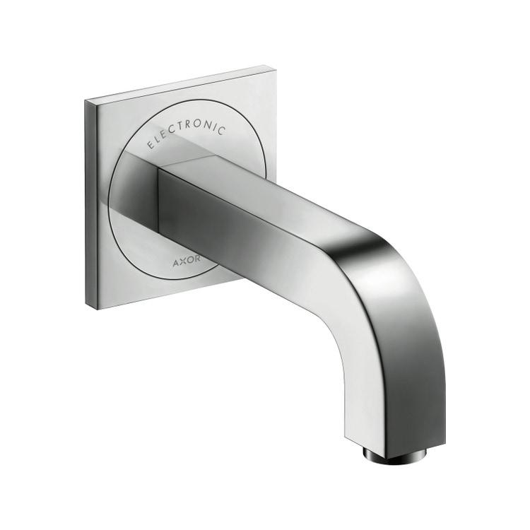 Immagine di Axor CITTERIO miscelatore elettronico lavabo, ad incasso a parete, con bocca di erogazione 16 cm, finitura cromo 39117000
