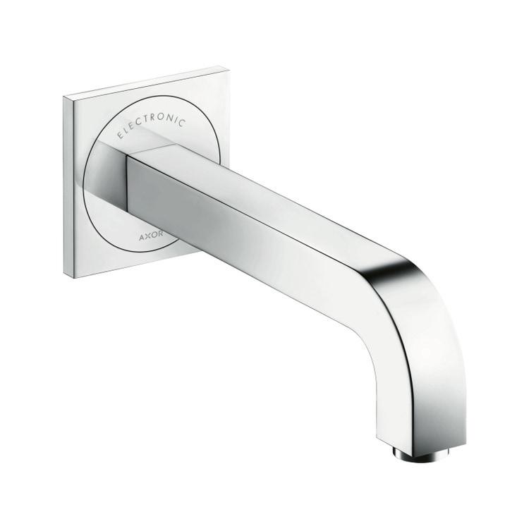 Immagine di Axor CITTERIO miscelatore elettronico lavabo, ad incasso a parete, con bocca di erogazione 22 cm, finitura cromo 39118000