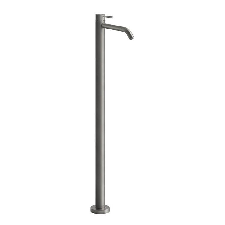 Gessi GESSI 316 FLESSA miscelatore lavabo da terra, senza scarico, finitura copper brushed PVD 54095#708