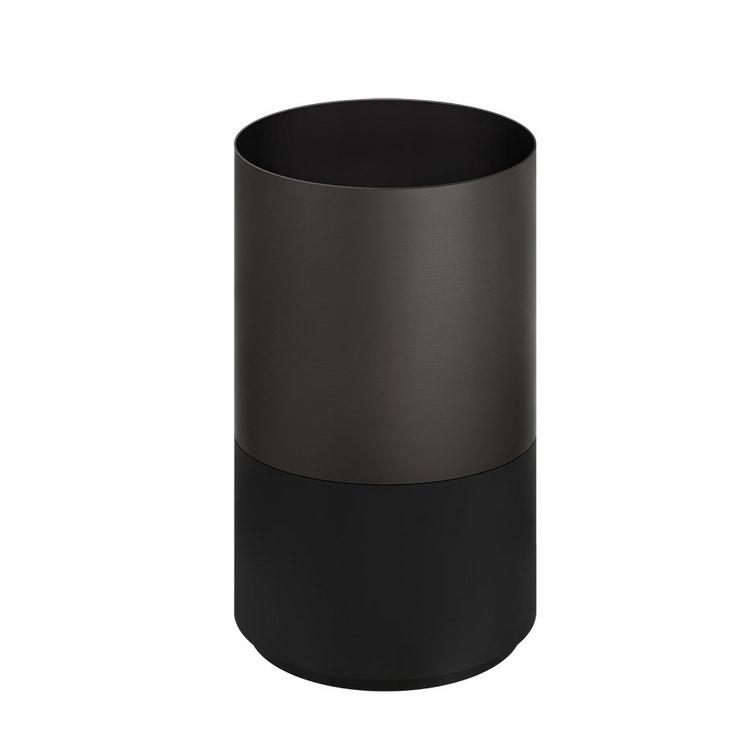 Gessi 316 TOTAL LOOK supporto da terra per installazione a pavimento lavabo (art.54601), finitura cristalplant dark metal 54603#850