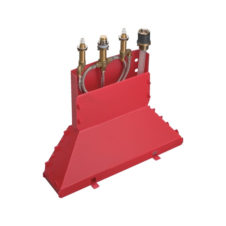 Axor Corpo incasso per rubinetteria 4 fori bordo vasca 15480180