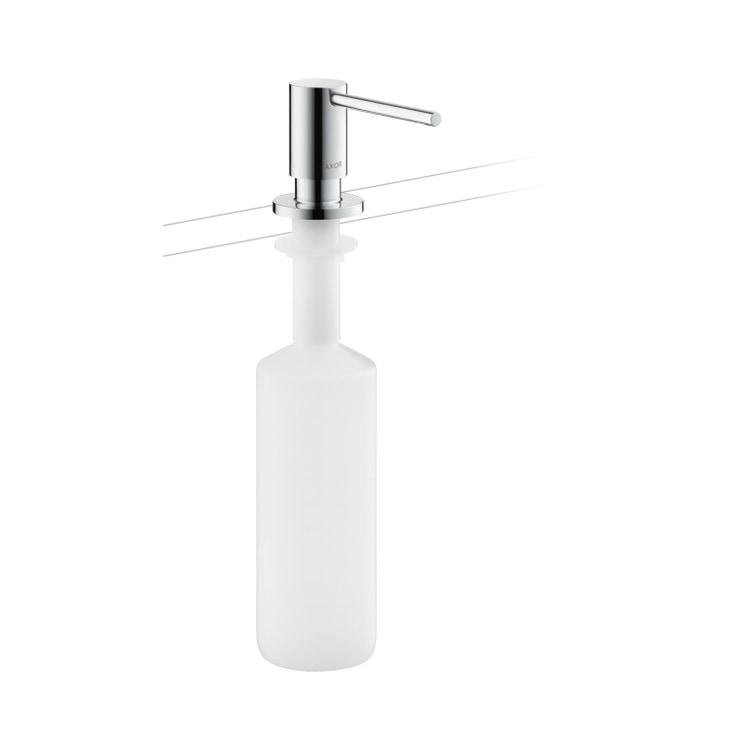 Axor UNO distributore sapone liquido, finitura cromo 42818000