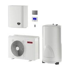 Immagine di Ariston NIMBUS FLEX S NET 90 - 300 Pompa di calore inverter split aria/acqua per riscaldamento, raffrescamento e produzione di ACS con bollitore 300 litri 3301342