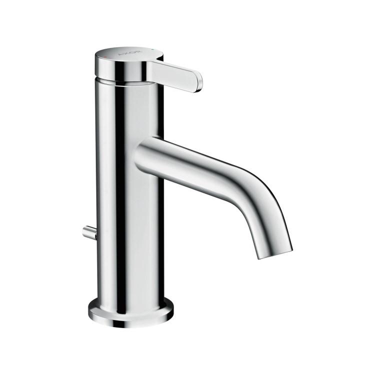 Axor ONE miscelatore monocomando lavabo 70, con maniglia a leva e salterello, finitura cromo 48000000