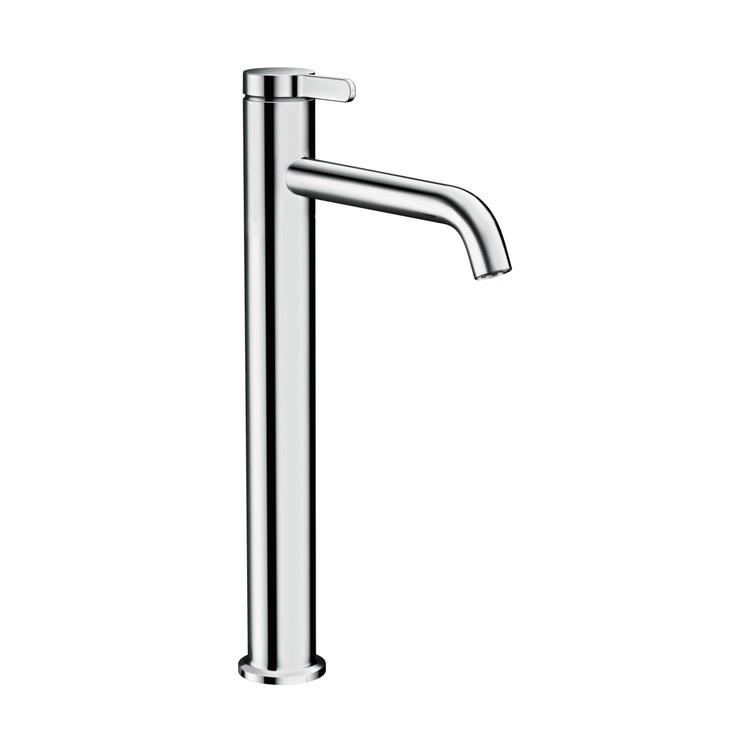 Axor ONE miscelatore monocomando lavabo 260, con maniglia a leva e set di scarico, finitura cromo 48002000