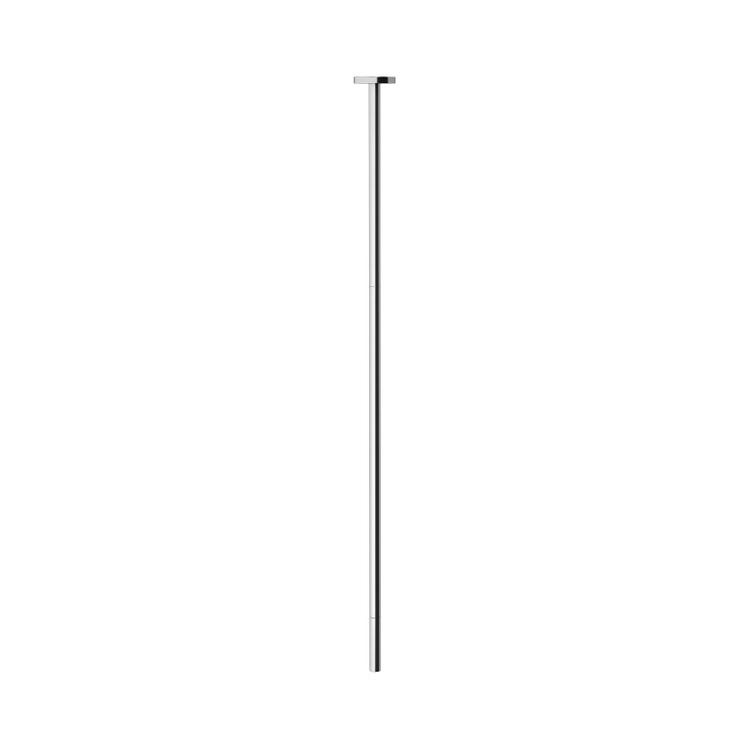 Gessi INGRANAGGIO rubinetto elettronico da soffitto, con regolazione di temperatura e portata tramite rubinetto sottolavabo, finitura cromo 30654#031