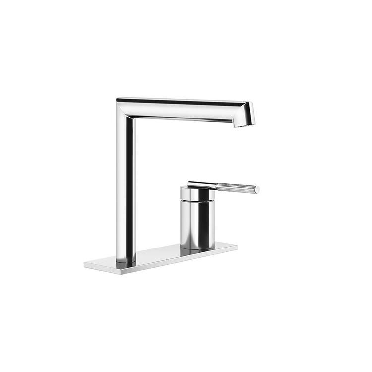Gessi INGRANAGGIO miscelatore lavabo H.16 cm, senza scarico, con flessibili di collegamento, finitura cromo 63515#031