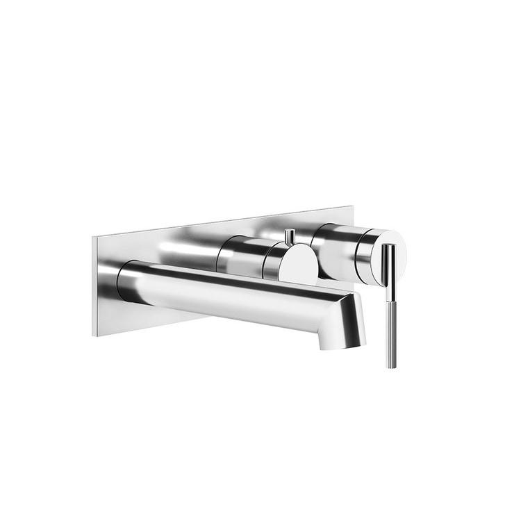 Gessi INGRANAGGIO miscelatore vasca a parete, 2 vie, finitura cromo 63451#031