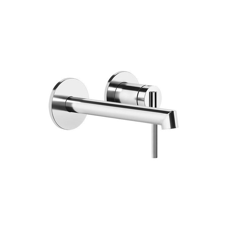 Gessi INGRANAGGIO miscelatore lavabo, a parete, P.17 cm, senza scarico, finitura cromo 63581#031