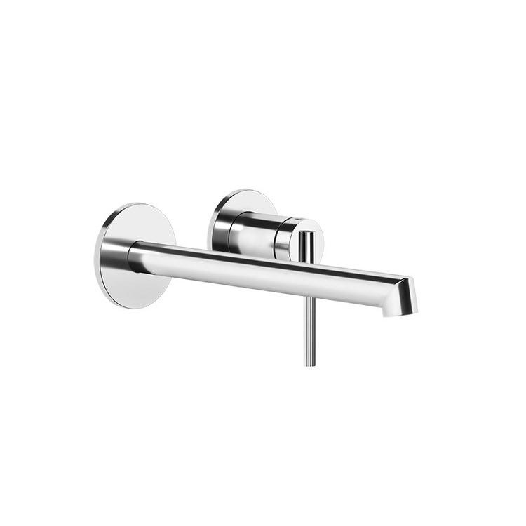Gessi INGRANAGGIO miscelatore lavabo, a parete, P.21 cm, senza scarico, finitura cromo 63583#031