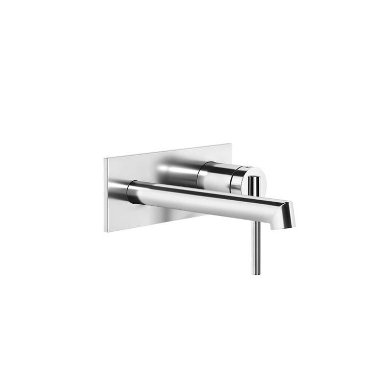 Gessi INGRANAGGIO miscelatore lavabo, a parete, P.17 cm, senza scarico, finitura cromo 63588#031
