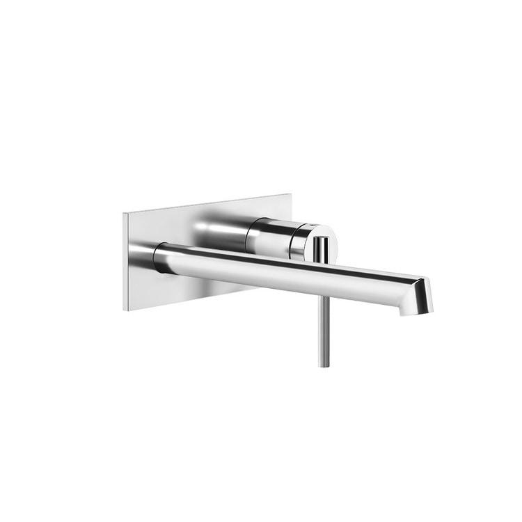 Gessi INGRANAGGIO miscelatore lavabo, a parete, P.21 cm, senza scarico, finitura cromo 63589#031