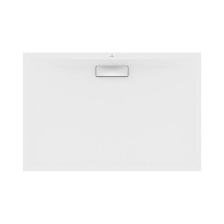 Ideal Standard ULTRAFLAT NEW piatto doccia rettangolare L.120 P.80 cm, in acrilico, colore bianco finitura lucido T446901