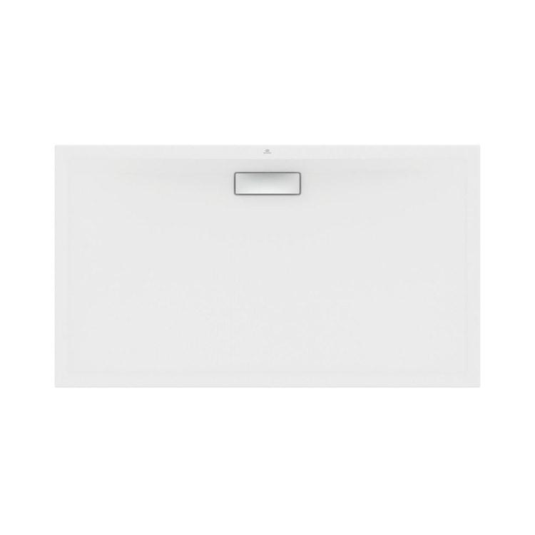 Ideal Standard ULTRAFLAT NEW piatto doccia rettangolare L.140 P.80 cm, in acrilico, colore bianco finitura lucido T447001