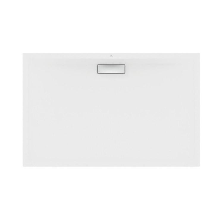 Ideal Standard ULTRAFLAT NEW piatto doccia rettangolare L.140 P.90 cm, in acrilico, colore bianco finitura lucido T448401