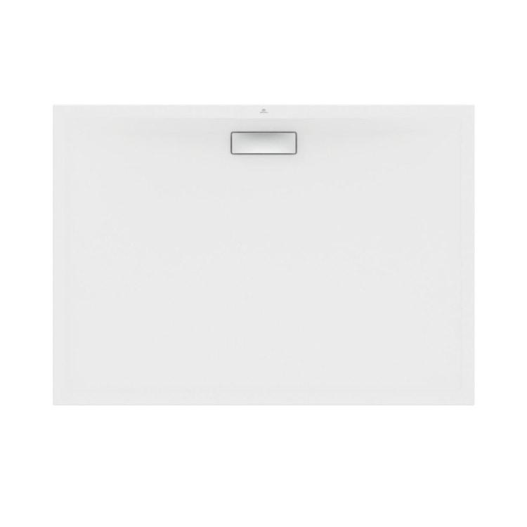 Ideal Standard ULTRAFLAT NEW piatto doccia rettangolare L.140 P.100 cm, in acrilico, colore bianco finitura lucido T449001