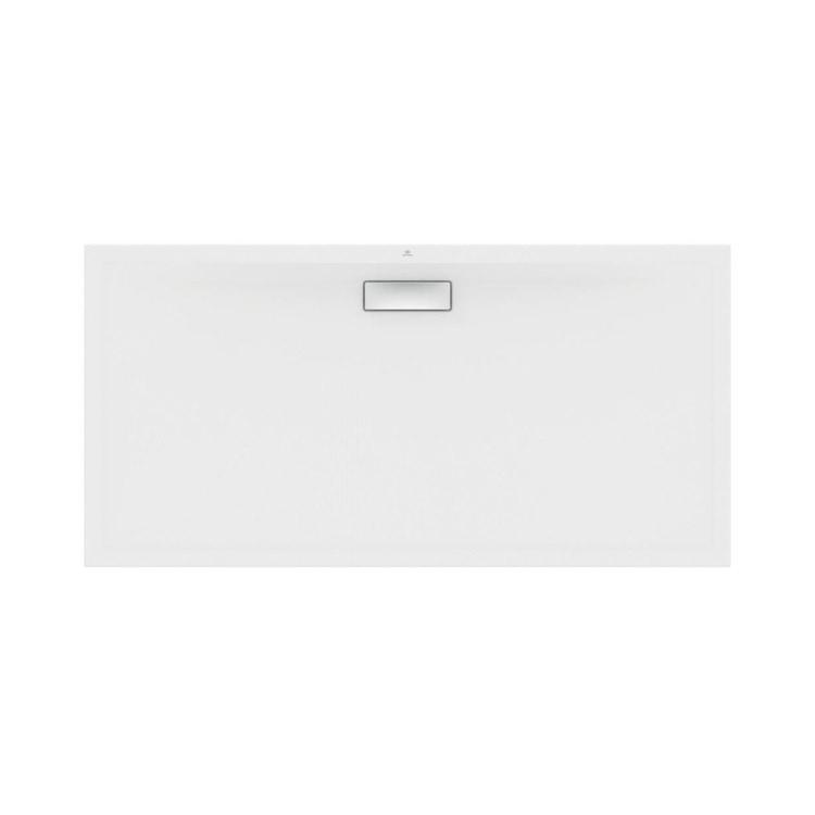 Ideal Standard ULTRAFLAT NEW piatto doccia rettangolare L.160 P.80 cm, in acrilico, colore bianco finitura seta T4471V1