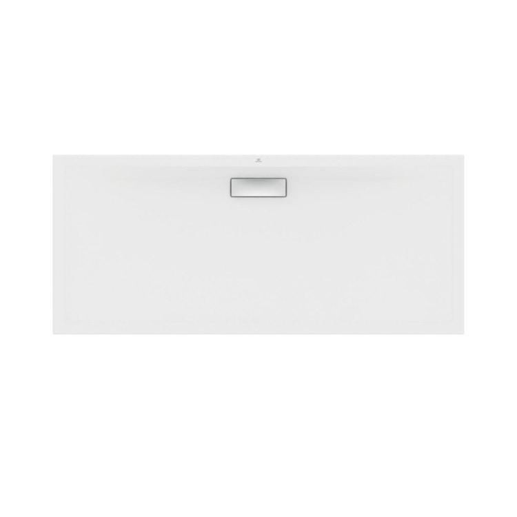Ideal Standard ULTRAFLAT NEW piatto doccia rettangolare L.160 P.70 cm, in acrilico, colore bianco finitura lucido T447801