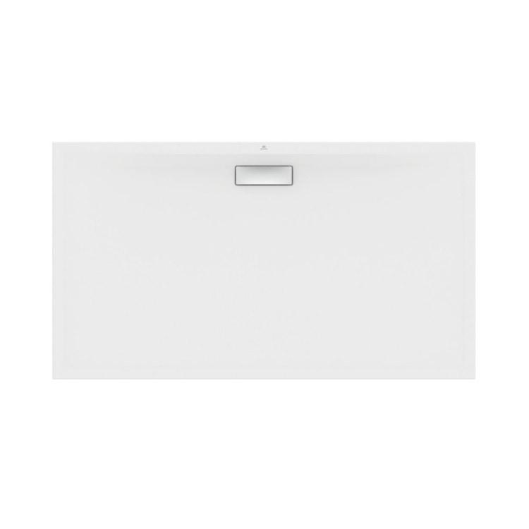 Ideal Standard ULTRAFLAT NEW piatto doccia rettangolare L.160 P.90 cm, in acrilico, colore bianco finitura seta T4485V1