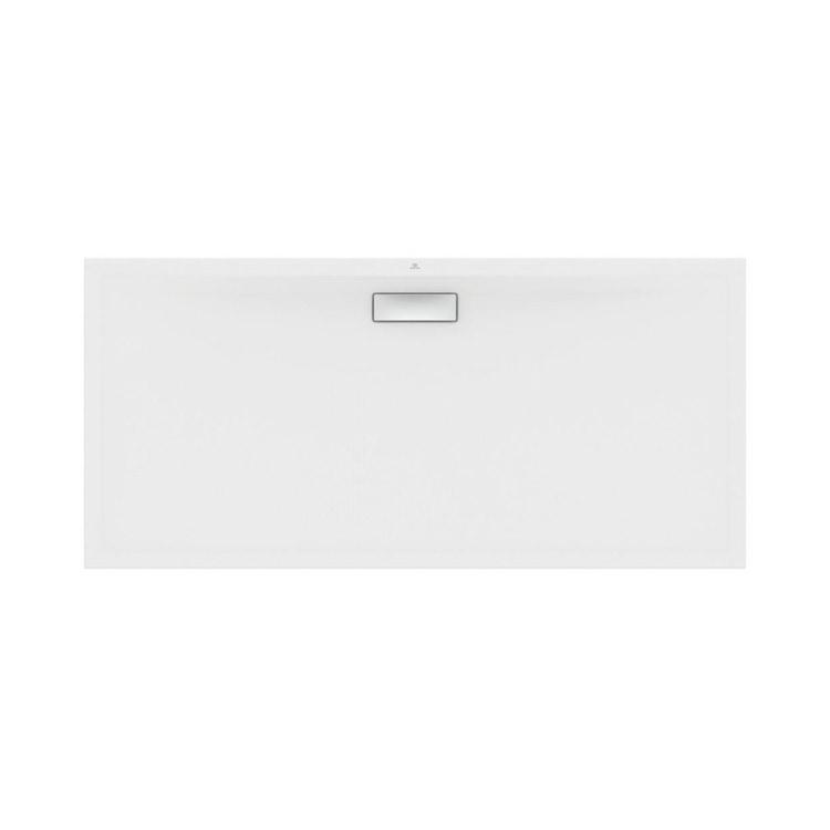 Ideal Standard ULTRAFLAT NEW piatto doccia rettangolare L.170 P.80 cm, in acrilico, colore bianco finitura lucido T447201
