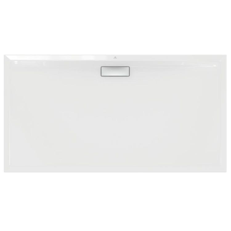 Ideal Standard ULTRAFLAT NEW piatto doccia rettangolare L.170 P.90 cm, in acrilico, colore bianco finitura lucido T448601
