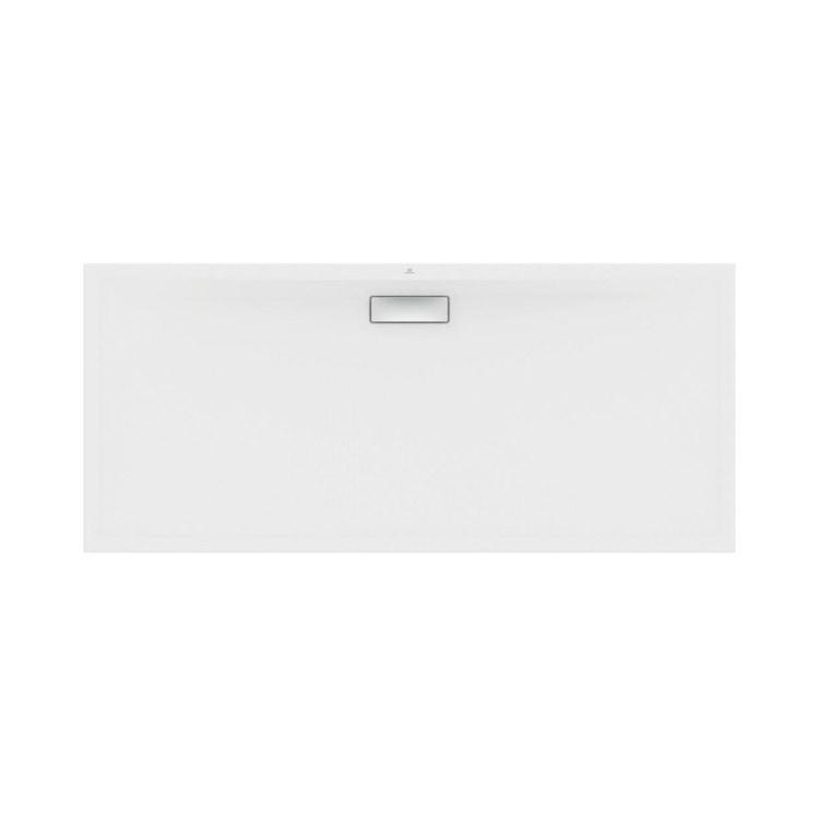 Ideal Standard ULTRAFLAT NEW piatto doccia rettangolare L.180 P.80 cm, in acrilico, colore bianco finitura seta T4473V1