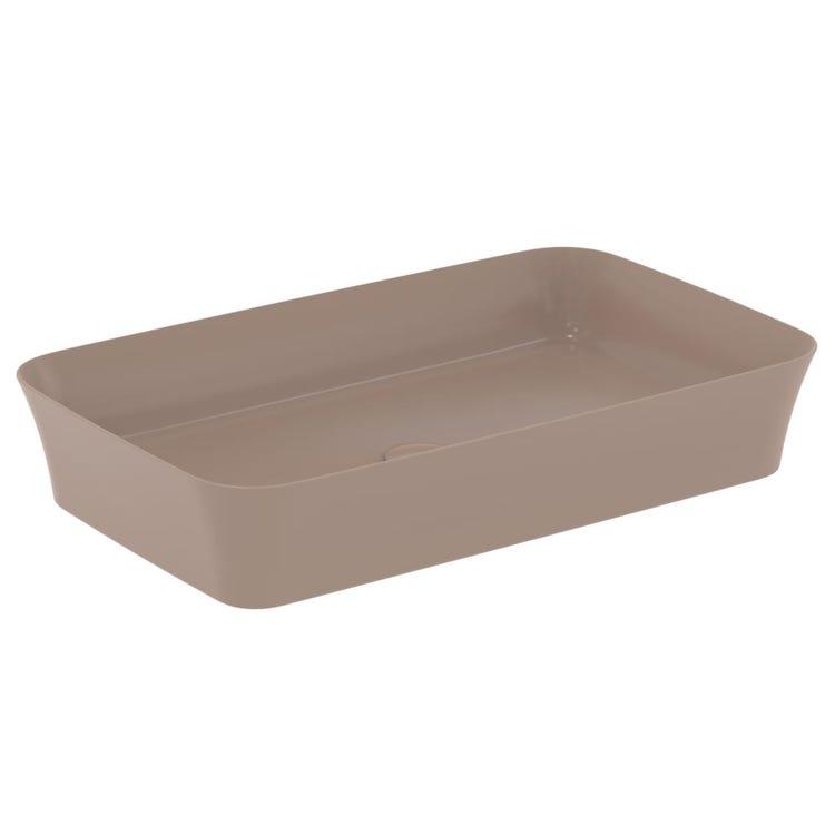 Ideal Standard IPALYSS lavabo da appoggio 65 cm, senza troppopieno, colore kashmir finitura opaco E1886V4
