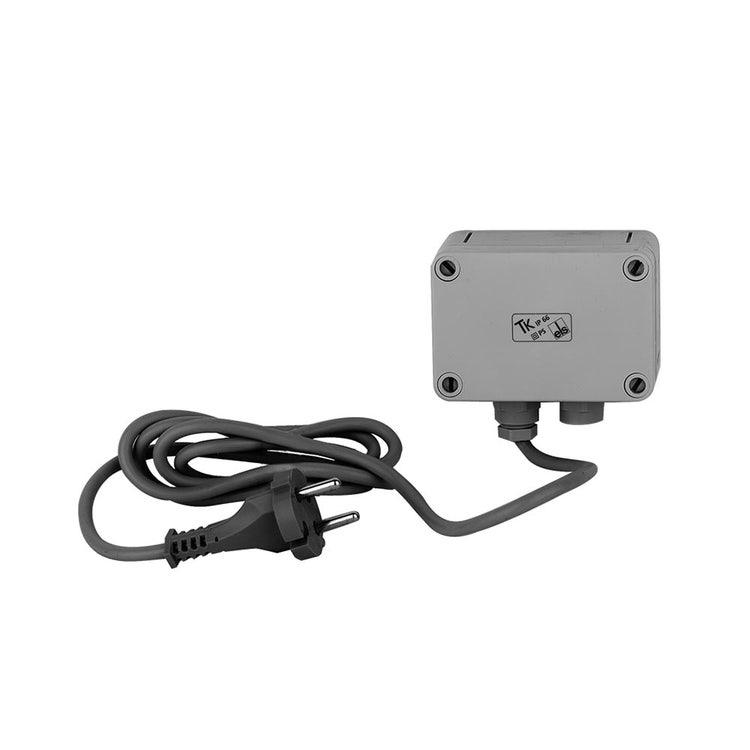 Immagine di Gessi Alimentatore per comandi remoti, alternativo alla batteria fornita nella versione standard, finitura cromo 44680#031