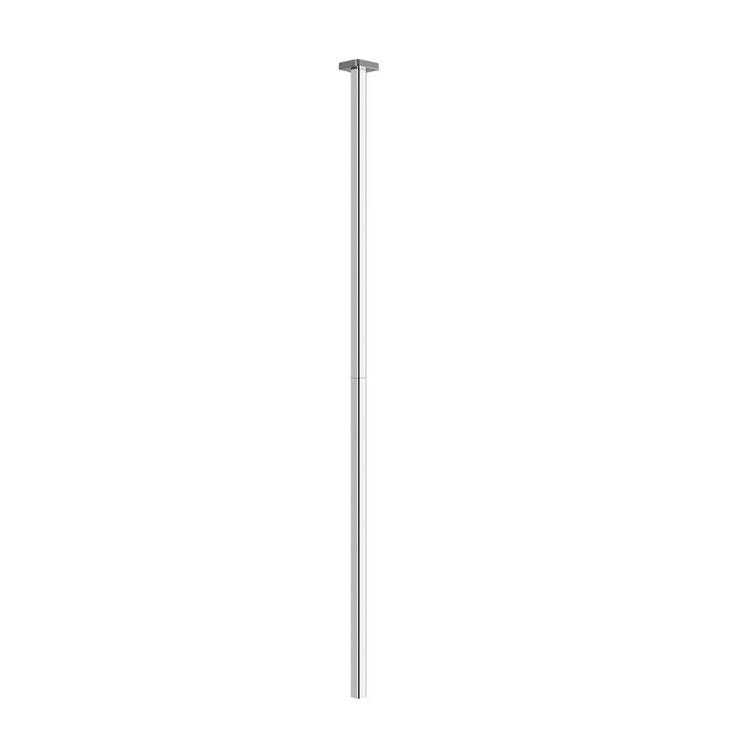 Immagine di Gessi RILIEVO rubinetto elettronico da soffitto, con regolazione di temperatura e portata tramite rubinetto sottolavabo, finitura cromo 59024#031