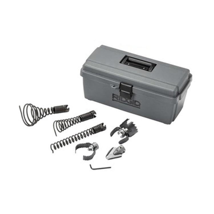 Immagine di Ridgid Kit cassetta con utensili da 32 mm per stasatrice a cavi frazionabili 61723
